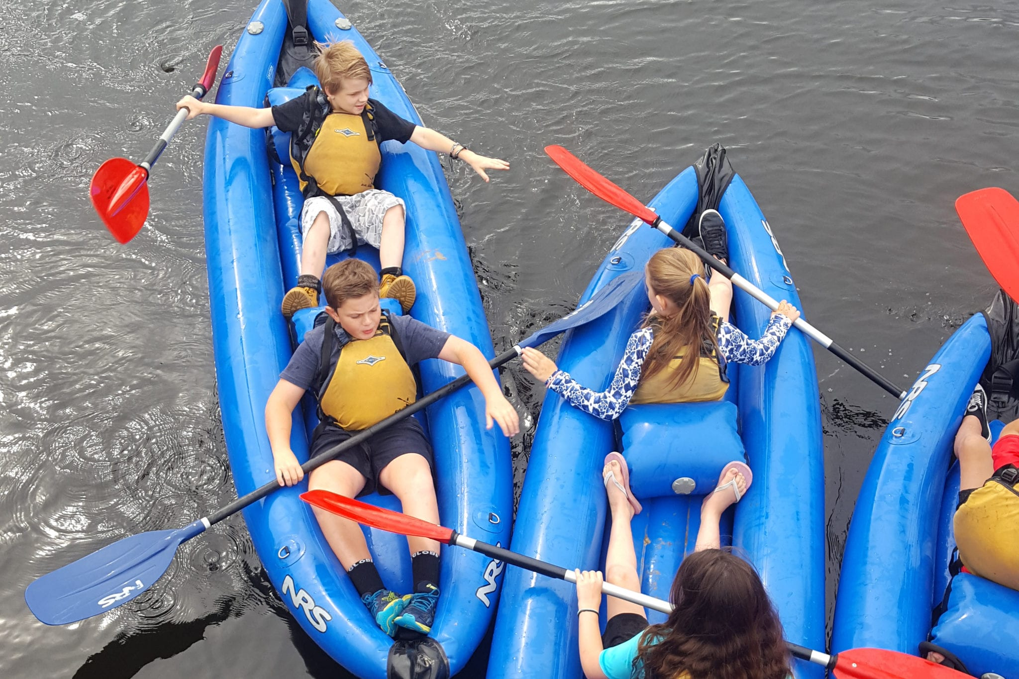 Wonthaggi-North-Primary-outdoor-rafting-camp
