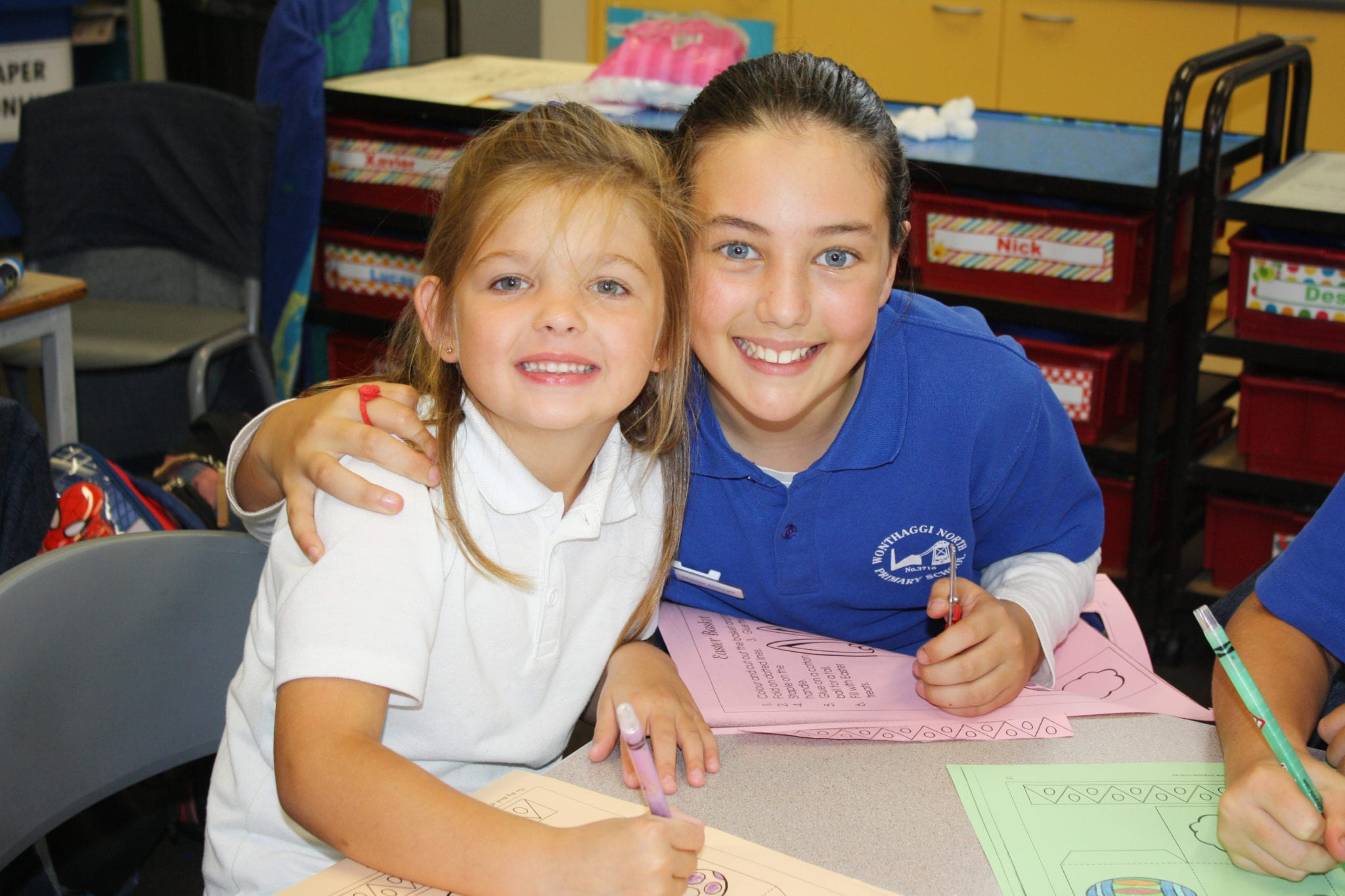Wonthaggi-North-two female-students-in-better-buddy-program